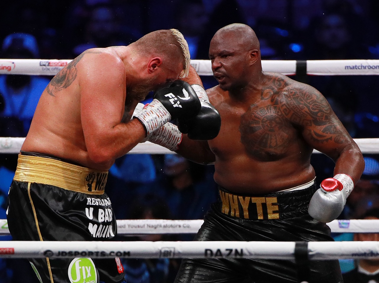 "Dillian Whyte On Deontay Wilder: ""I'd Fight Him In His Own Home, The Kitchen, The garage, The Garden, Wherever"""