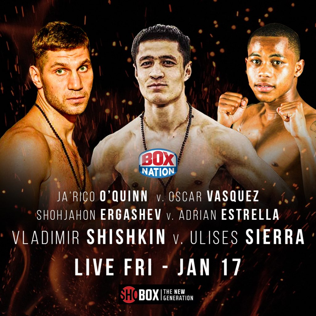 09C44F2D D9A0 4F19 AE66 C54006928D36 1024x1024 - Shobox Begins the New Year with a Tripleheader Headlined by Hard-Hitting Shohjahon Ergashev