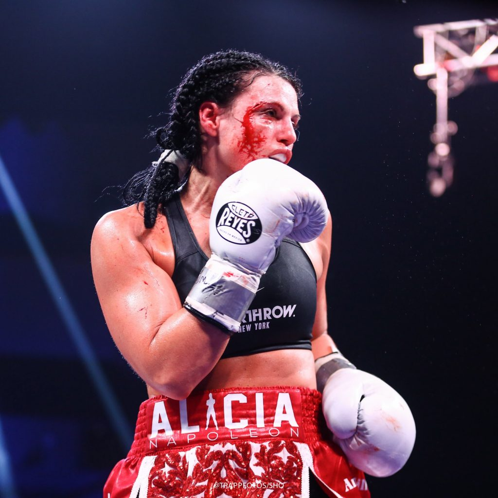 90ADC3B0 3D10 4F0F 8A20 C5EBB3C0C7C6 1024x1024 - Alicia Napoleon-Espinoza Ends The Debate On Women's Boxing