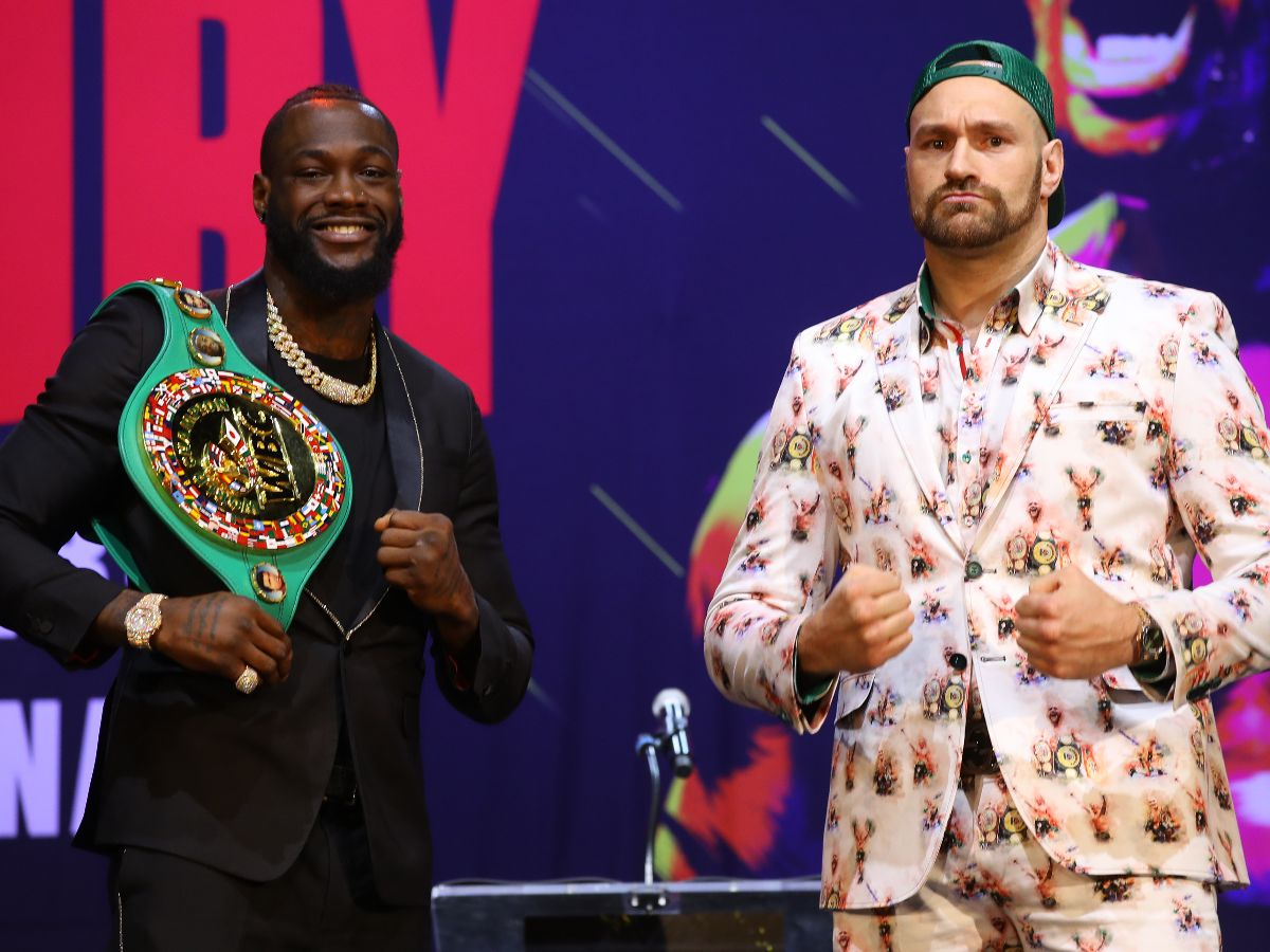 CFB8D406 BFDA 4ADF B670 7EC74A34F064 - Wilder And Fury Trade Barbs At Press Conference