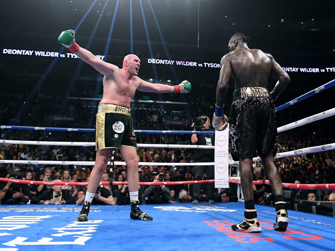 """Tyson Fury - Tyson Fury vs Deontay Wilder Officially Off Says Fury: """"I've Moved On"""""""
