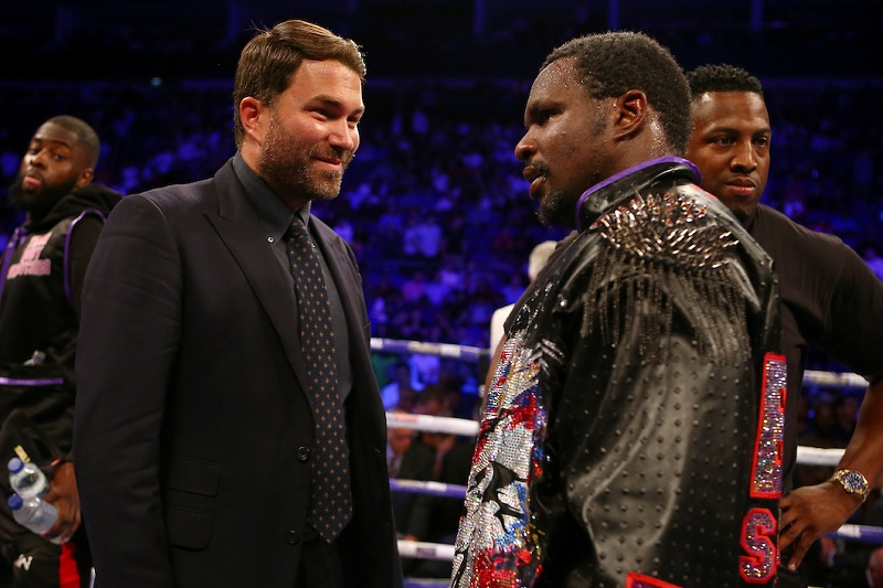 "Dillian and Hearn - Eddie Hearn Brutally Honest On Dillian Whyte's Career If He Loses Against Alexander Povetkin Again: ""I Think It's Terminal For His World Title Chances"""