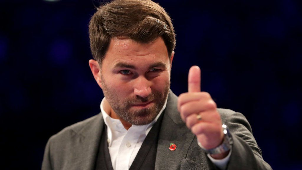 Eddie Hearn - Eddie Hearn is Turning His Backyard Into a Fight Arena to Host Fights