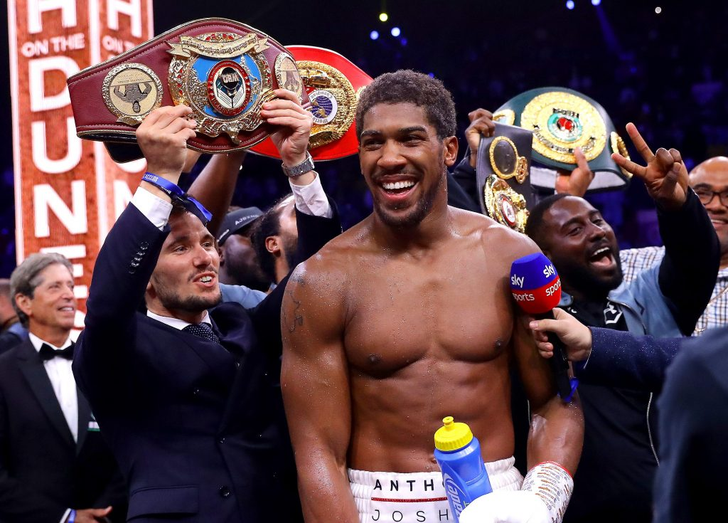 "Joshua 1024x735 - Anthony Joshua: ""I'm Coming Towards The End Of My Career"""