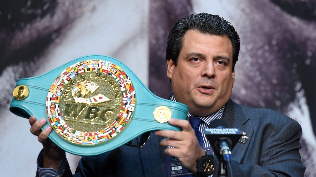 Mauricio Sulaiman Introduces A New Title…….Again
