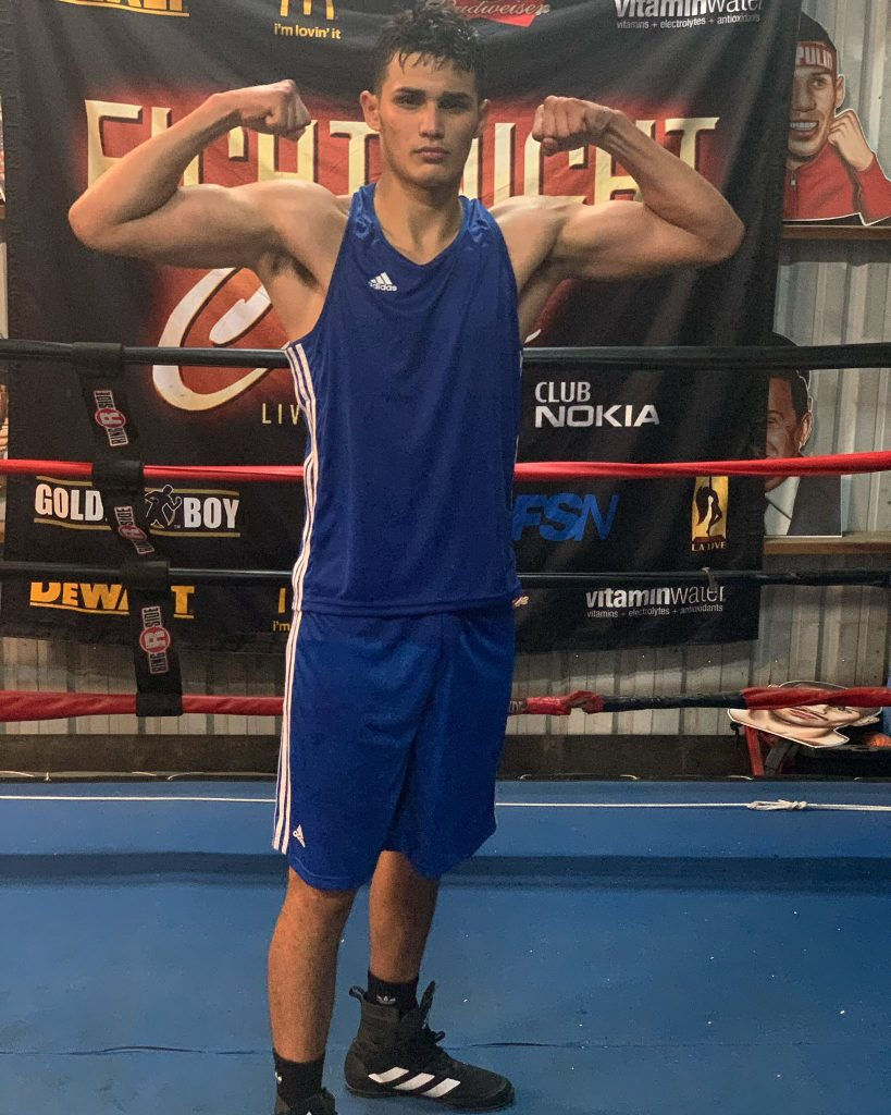 """E63F65BB 7A1F 47BF A844 6D4E0D06C33D 819x1024 - Evan Sanchez Returns To The Ring, Post Covid, """"Like Nothing Ever Happened."""""""