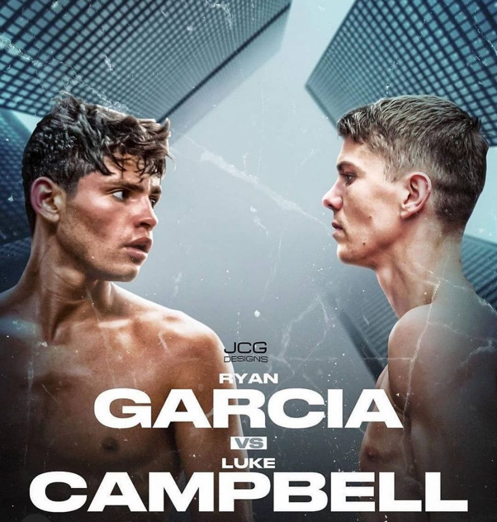 Ryan Garcia Vs Luke Campbell Officially Taking Place December 5th Boxinginsider Com