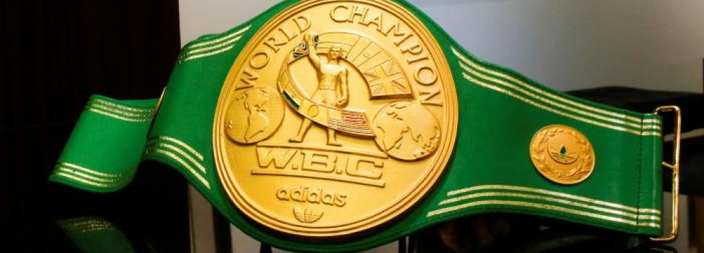 Alis belt - WBC Honors Young Hero With Honorary Green Belt