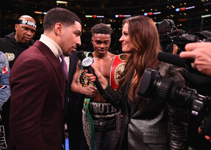 Danny and Spence - Errol Spence Jr. and Danny Garcia Explain Why They Are Looking To Each Other's Past Wins For Answers