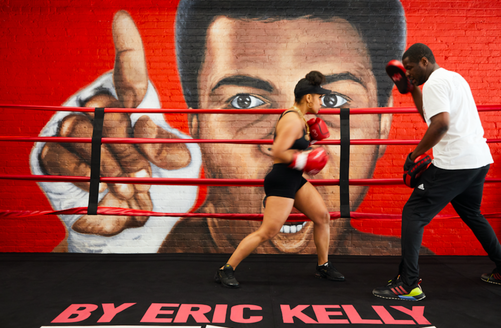 "Kelly and pupil - ""We Are Really Back!"" New York City Boxing Gyms To Reopen On Wednesday"