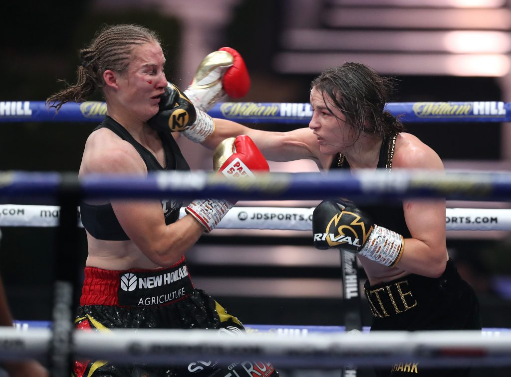 MDR13216 1024x757 - MatchRoom Boxing Results: Katie Taylor Ends Rivalry with Delfine Persoon With Unanimous Decision Victory
