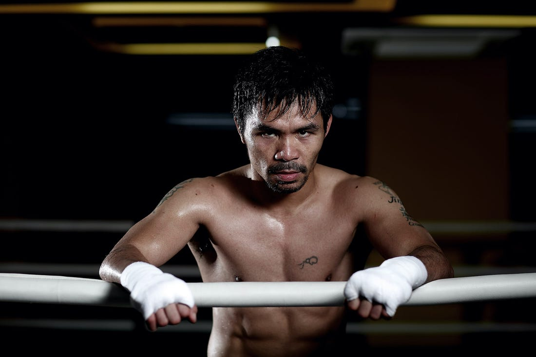 """Manny Pacquiao Doesn't Completely Rule Out Clash Against Gennadiy Golovkin: """"It Depends"""""""
