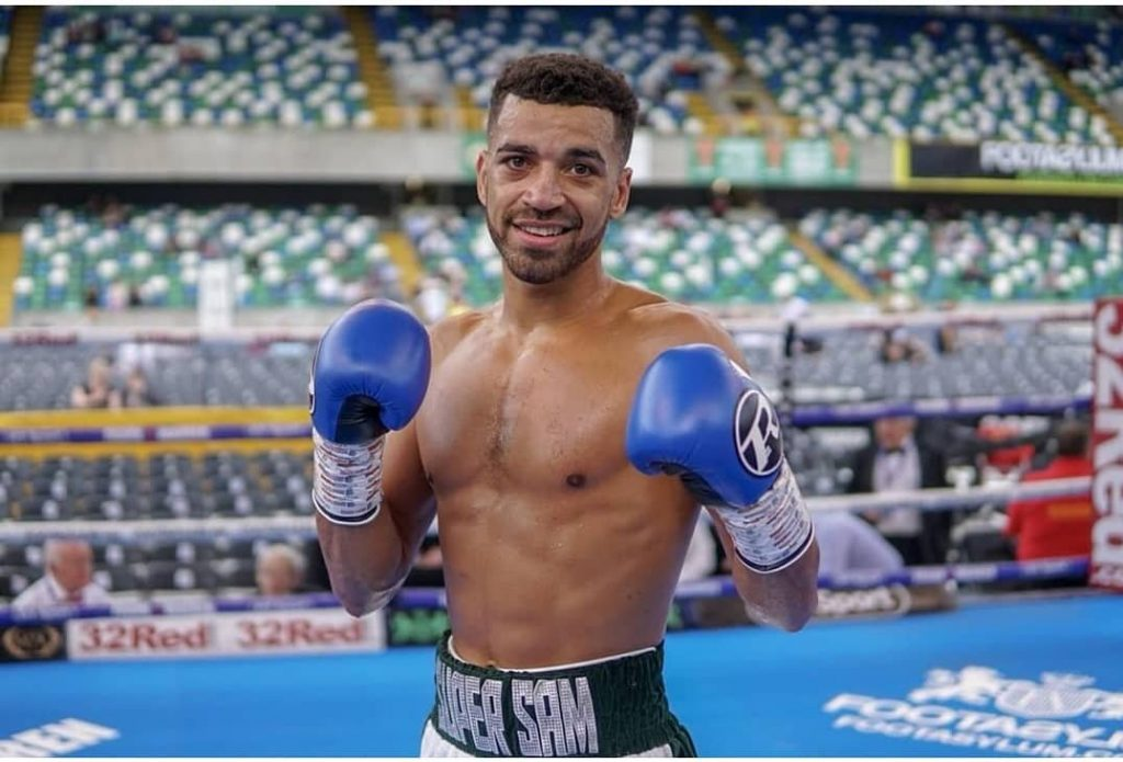Sam Maxwell 1024x695 - ESPN+ Boxing Results: Earns Hard-nosed Decision Over Joe Hughes