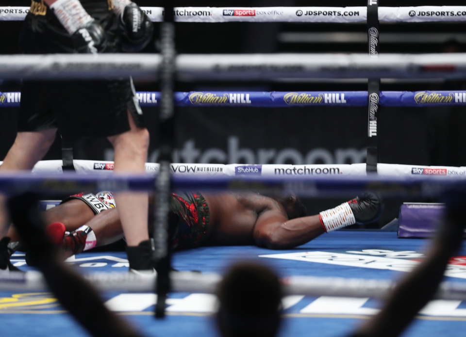 Whyte Down - Dillian Whyte vs Alexander Povetkin 2 Goes Down On November 21st