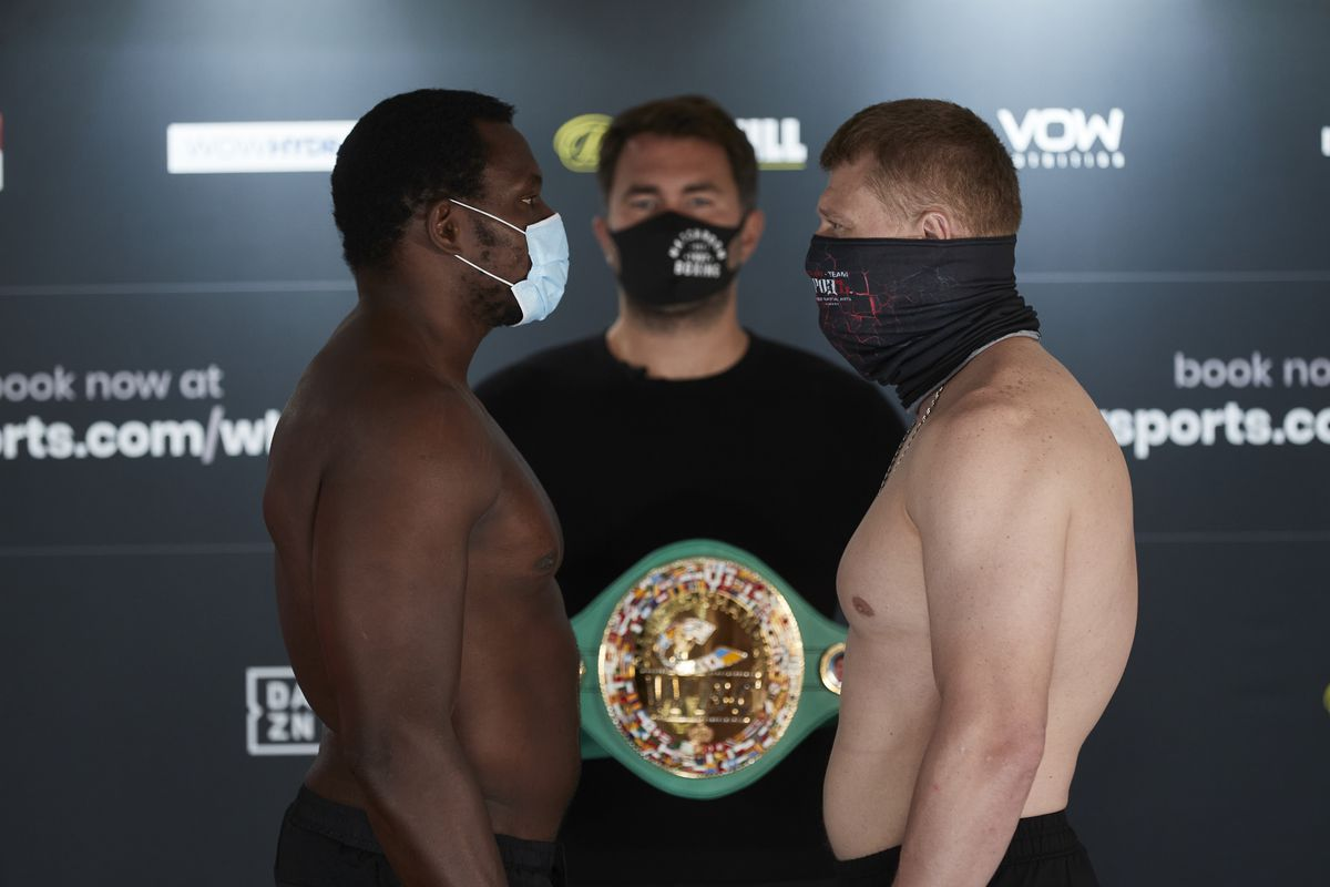 Whyte vs Povetkin - MatchRoom Boxing Results: Alexander Povetkin Scores Ridiculous One Punch Knockout Over Dillian Whyte