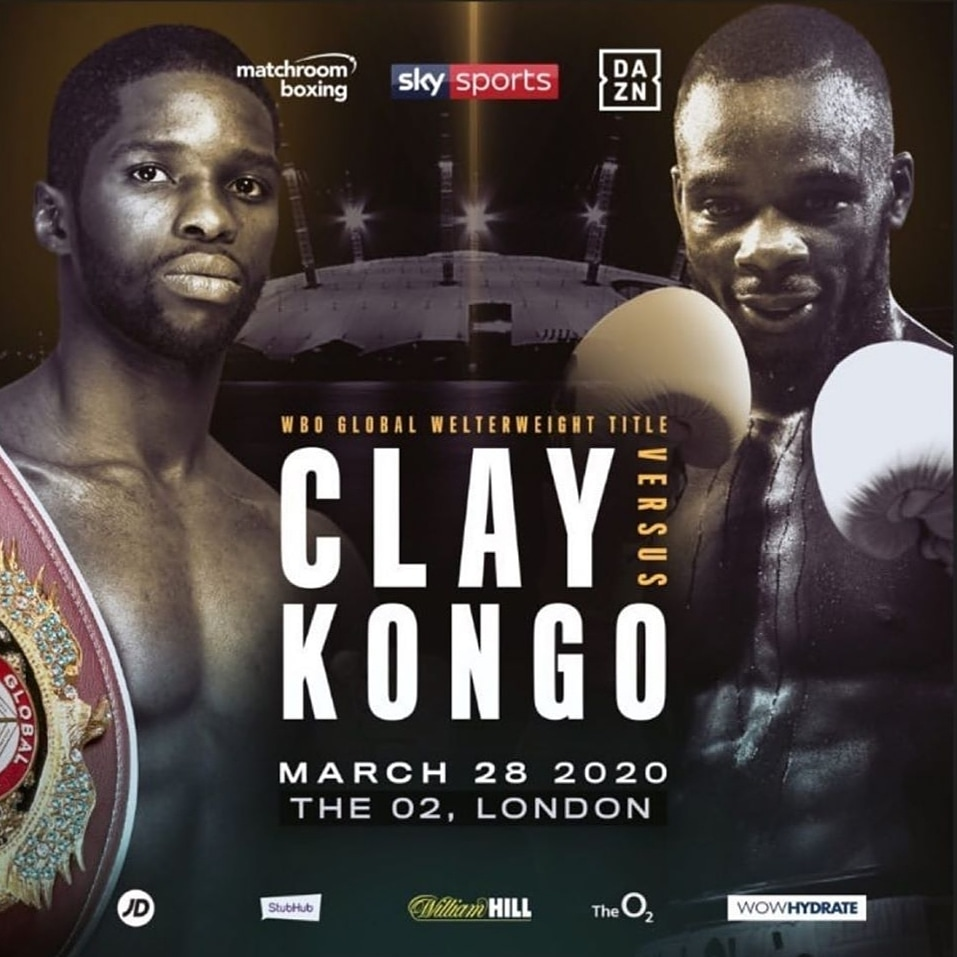 MatchRoom Boxing Results: Chris Kongo Stops Luther Clay