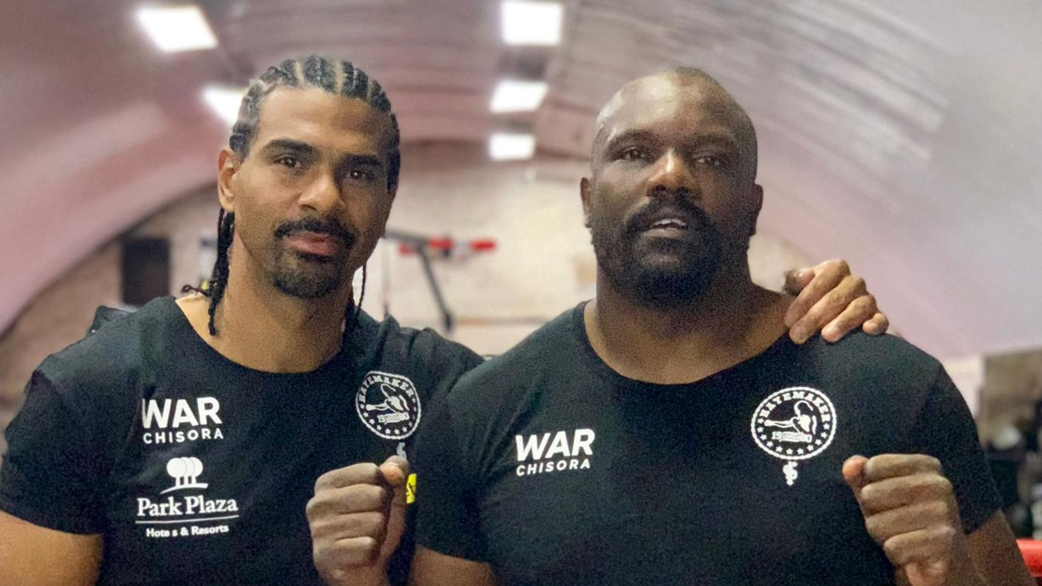 """C And H - David Haye Backs Chisora Against Usyk: """"It's About Size And Weight, He's Going To Cause An Upset"""""""