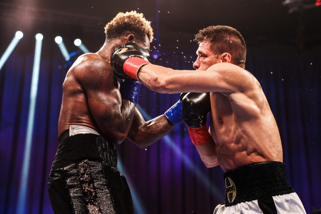 Derev 1024x683 - Charlo Decisions Derevyanchenko In Exciting Bout