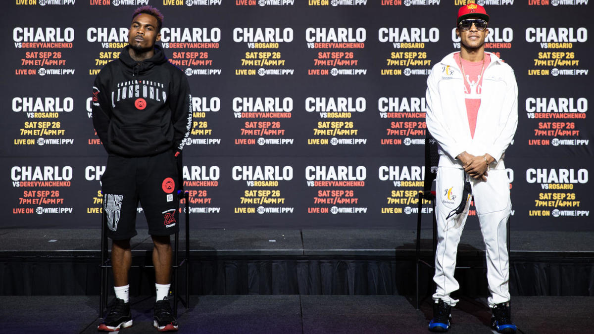 Jeison vs Charlo - Jermell Charlo vs Jeison Rosario Weigh-In Results