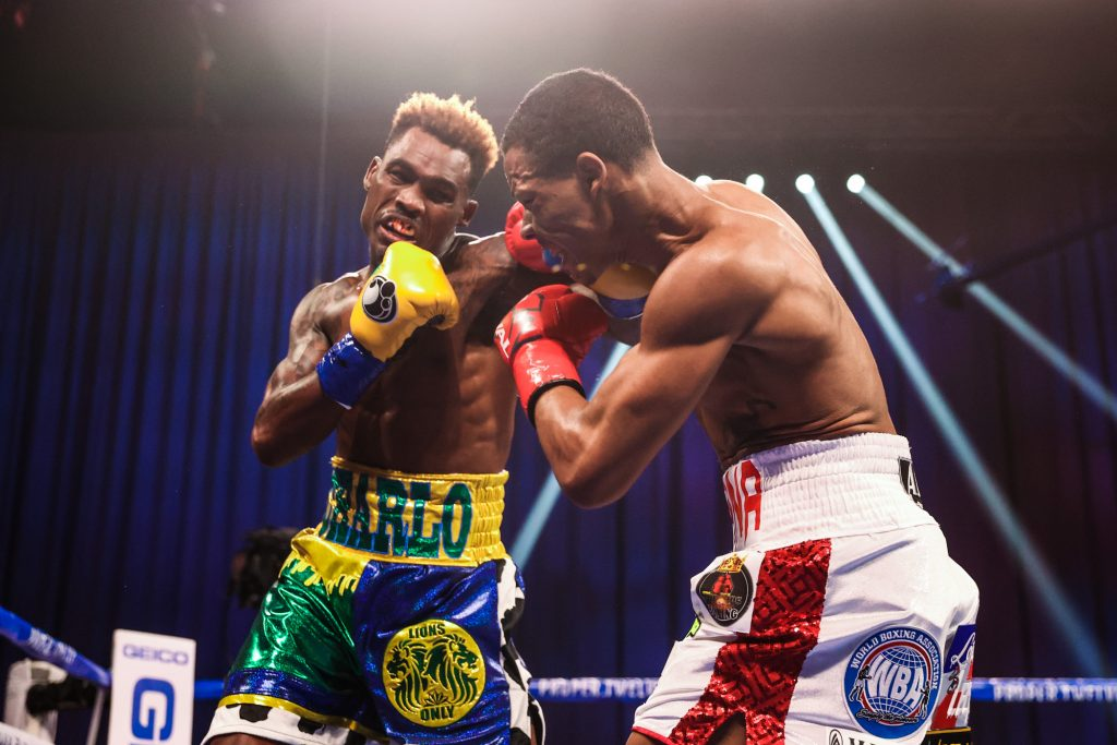 Jermall Charlo Knocks Out Jeison Rosario With Stunning Body Shot