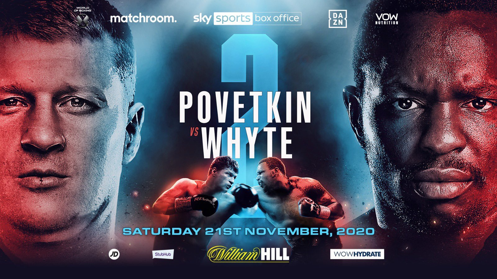 WhytePovetkin2 - Dillian Whyte vs Alexander Povetkin 2 Goes Down On November 21st