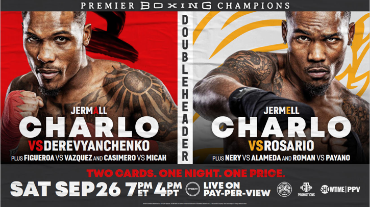 "mail - ""Charlo Doubleheader"" To Run $74.95 On PPV"