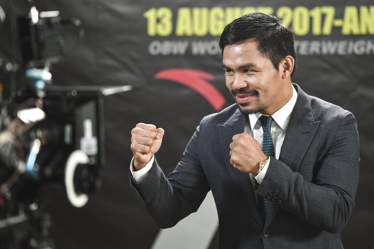 pacquiao - Pacquiao Agrees To McGregor Fight