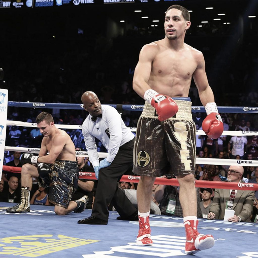 Danny Garcia fighting Rod Salka August 9 2014 0 1024x1024 - Spence-Garcia Reset For December 5th At AT&T Stadium