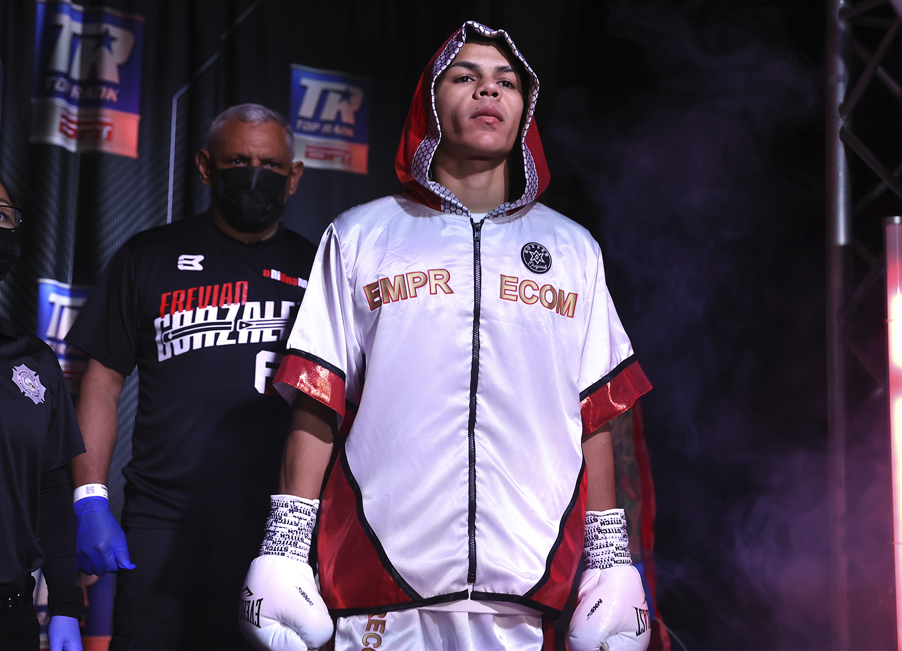 Frevian  - Jose Zepeda vs Ivan Baranchyk Undercard Results: Frevian Gonzalez Robles Keeps The Wins Coming, This Time At The Expense Of Carlos Marrero