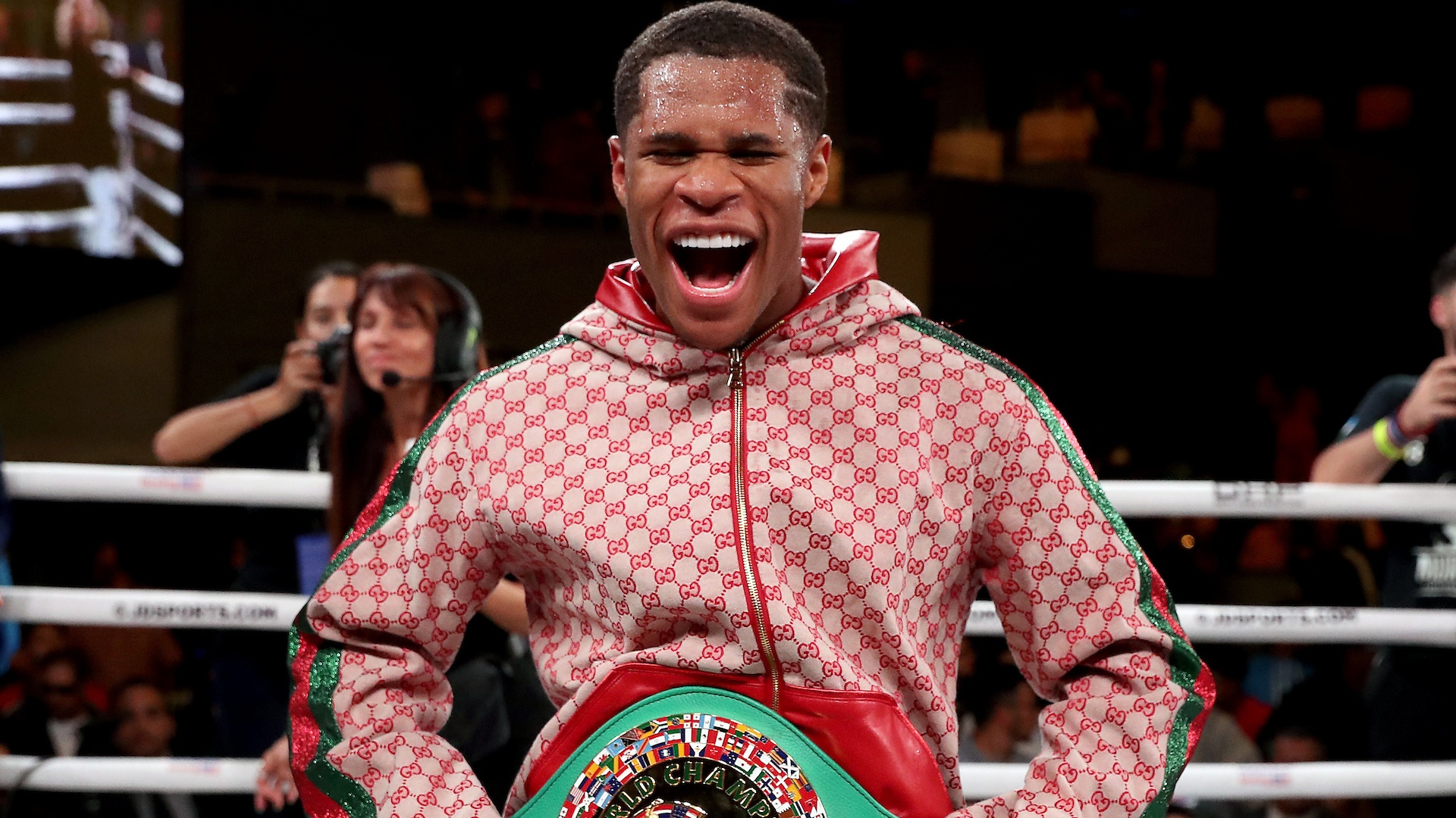 Haney - Devin Haney Wins One Sided Snooze Fest Against Yuriorkis Gamboa