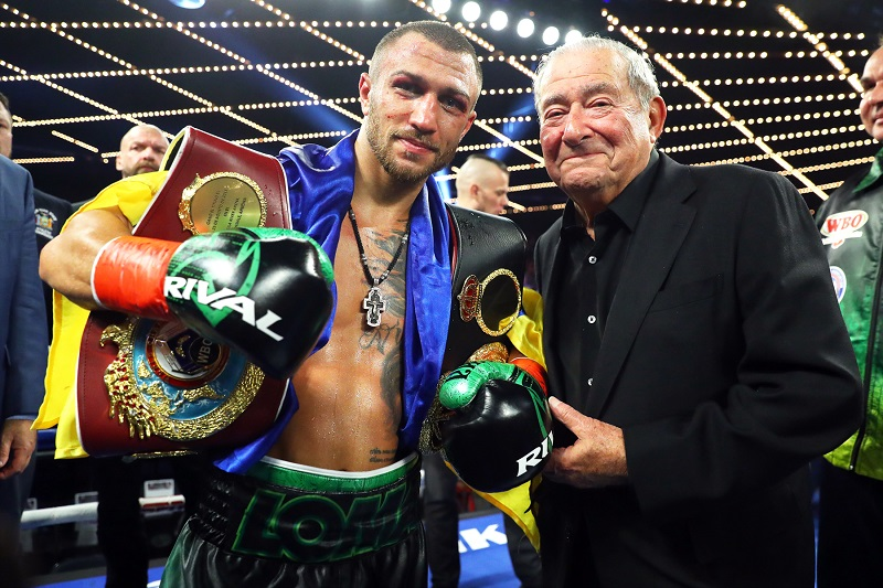 "Loma and Al - Bob Arum: ""Lomachenko Technically Is The Best Fighter I've Seen Since Early Ali"""