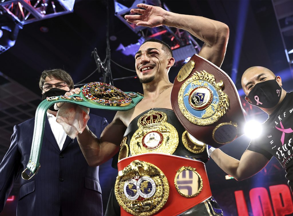 "Teofimo Lopez Completes ""The Takeover"""