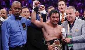 Manny - Pacquiao Teams With Paradigm