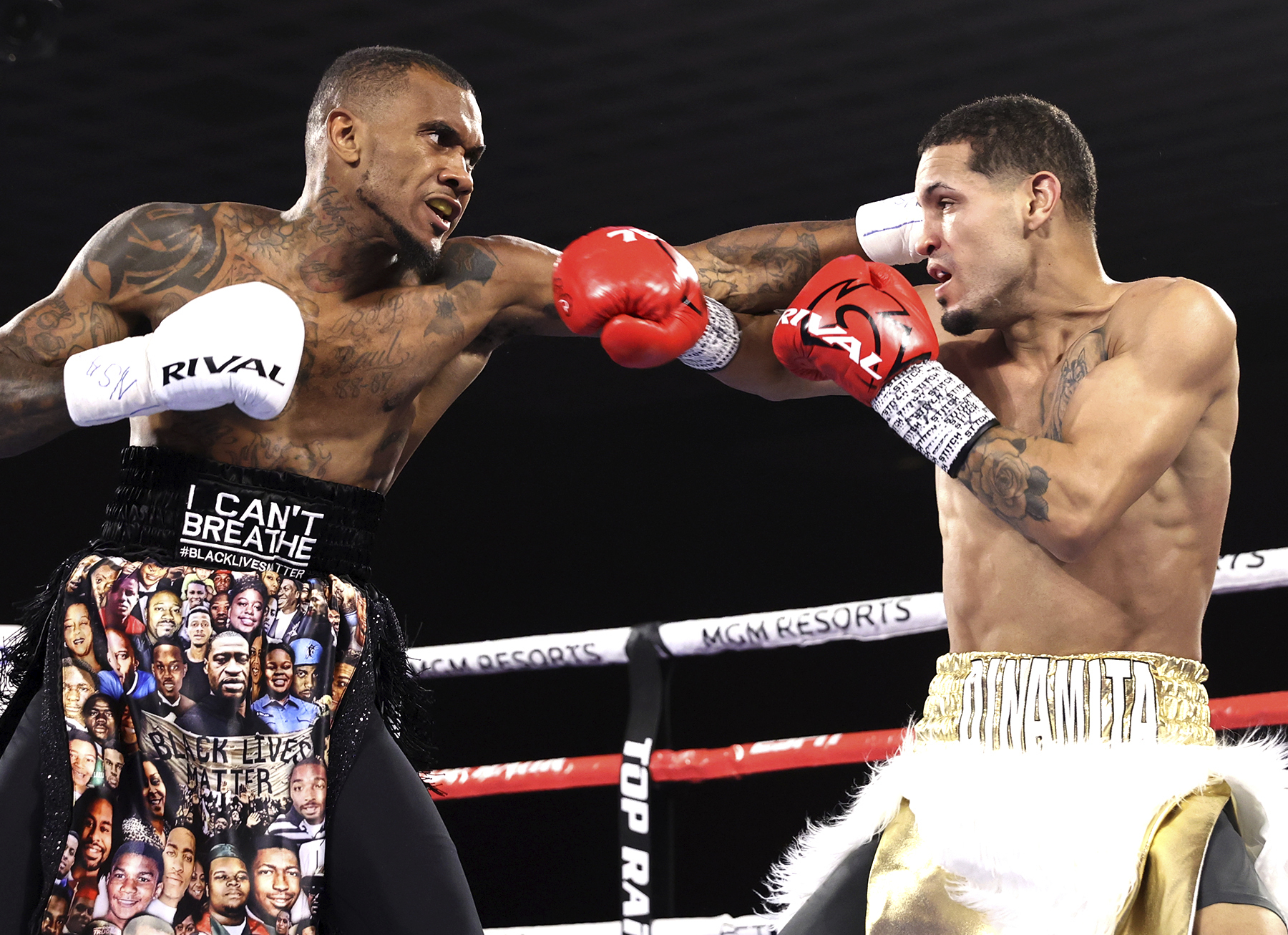 Randall - Vasiliy Lomachenko vs Teofimo Lopez Undercard Results: Quinton Randall Keeps His Perfect Record Clean Against Jan Carlos Rivera