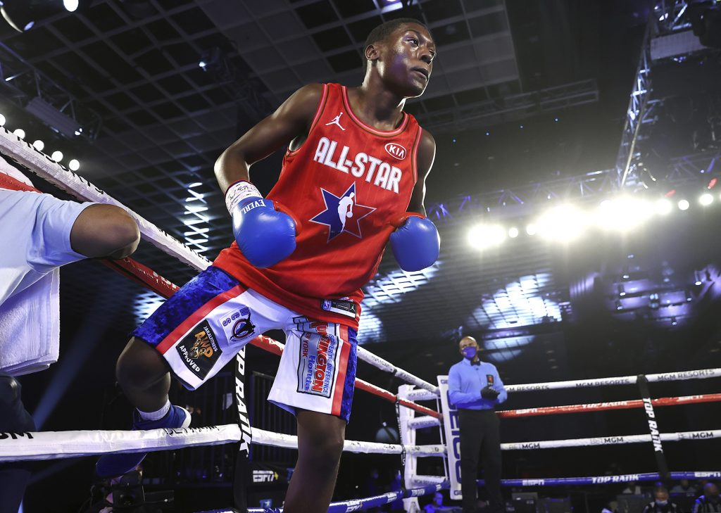 Tucker1 1024x729 - Vasiliy Lomachenko vs Teofimo Lopez Undercard Results: 17 Year Old Jahi Tucker Shows Flashes In Second Pro Win