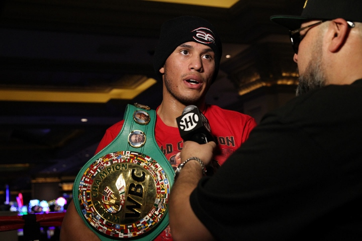 "David Benavidez - David Benavidez Urges Caleb Plant To Forget Canelo Showdown: ""You Talk All That Shit, You Gotta Come Show Me"""