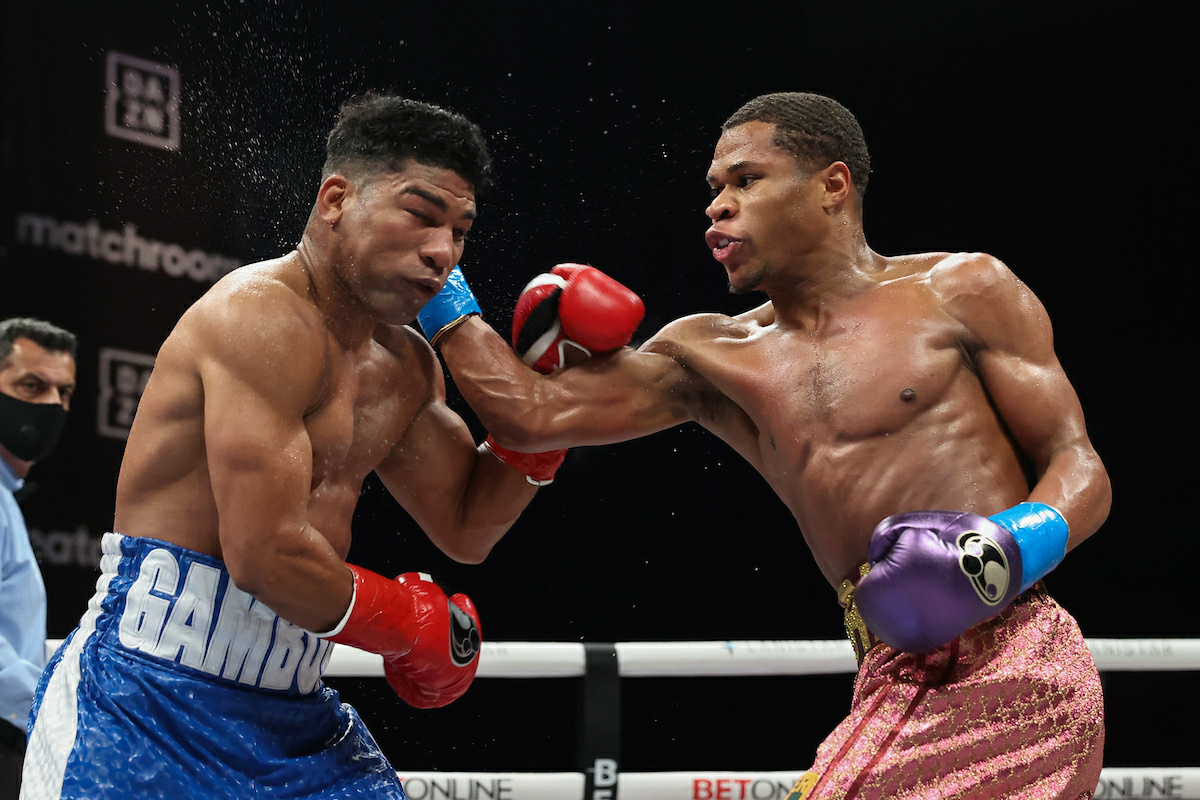 """Devin Haney On Yuriorkis Gamboa Performance: """"The Other Guys Fought Him And Look At Their Face And Look At Mines"""""""