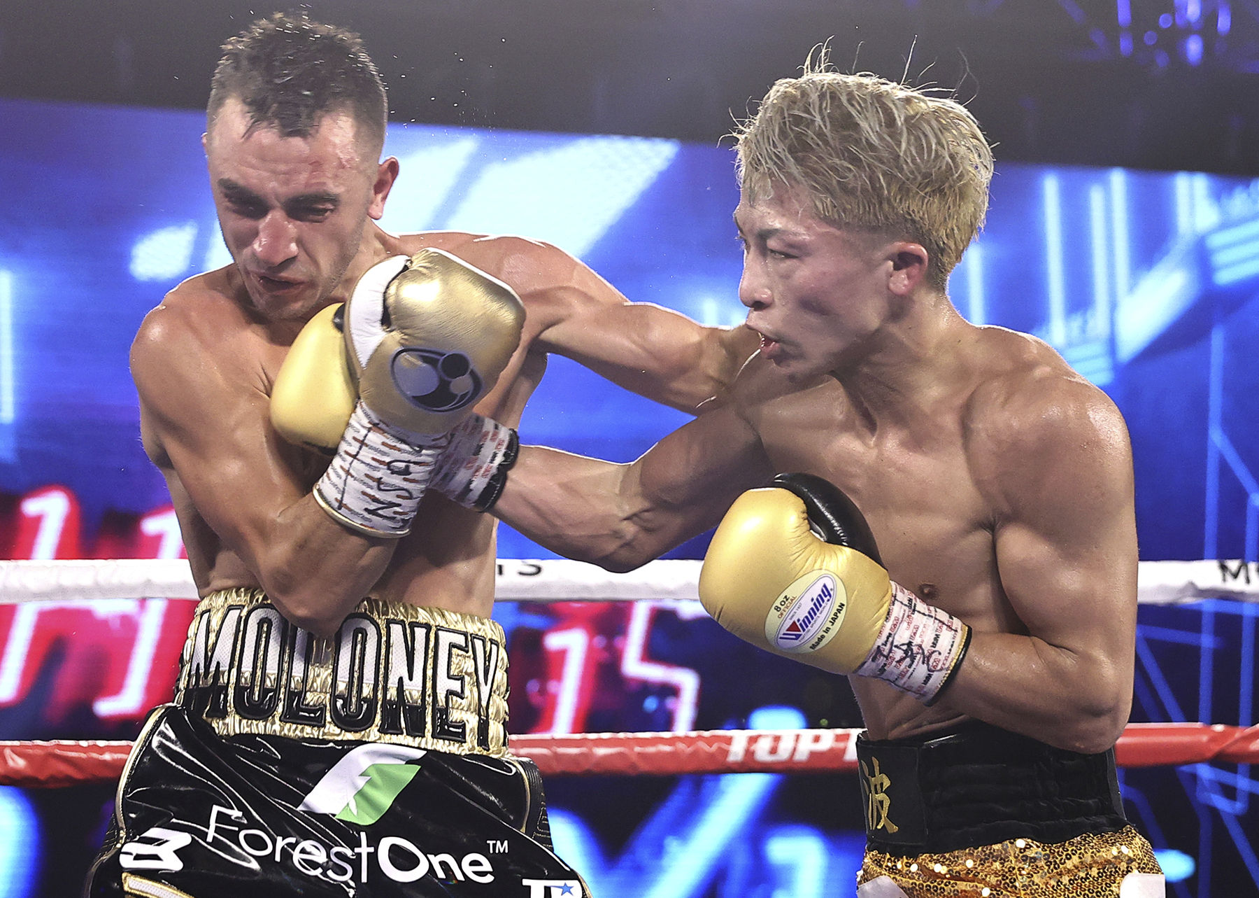 Naoya Inoue Brutalizes, Then Stops Jason Moloney In Seven Rounds