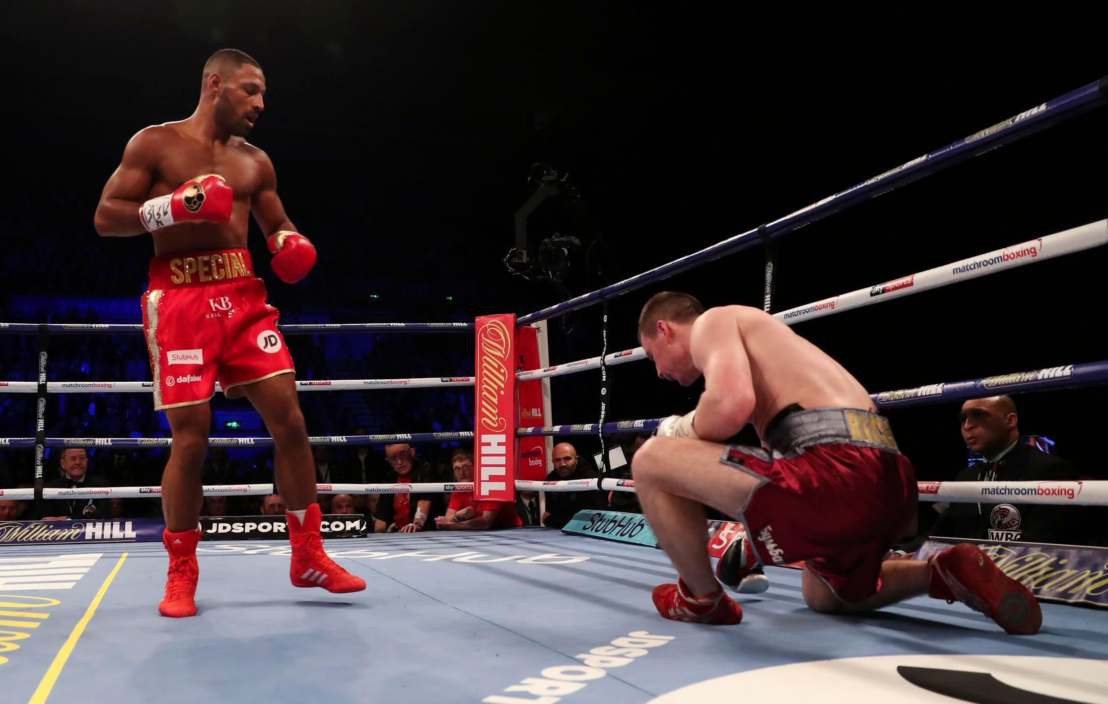 "Kell Brook Knockout Win - Kell Brook Believes He Knows Exactly How Matchup With Terence Crawford Plays Out: ""I Believe I Stop Him Or He Quits On The Stool"""