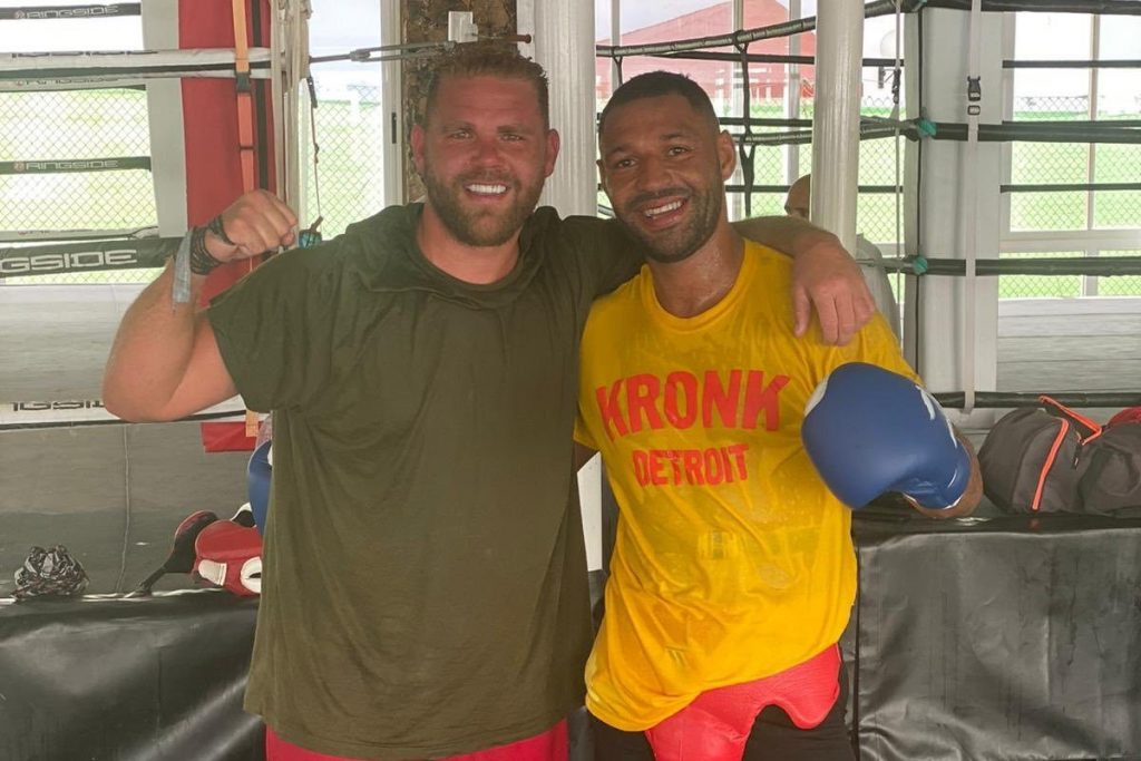 """Kell and Billy 1024x683 - Billy Joe Saunders Believes In Kell Brook Against Terence Crawford: """"I'm Backing Him, He's In The Best Shape Of His Life"""""""