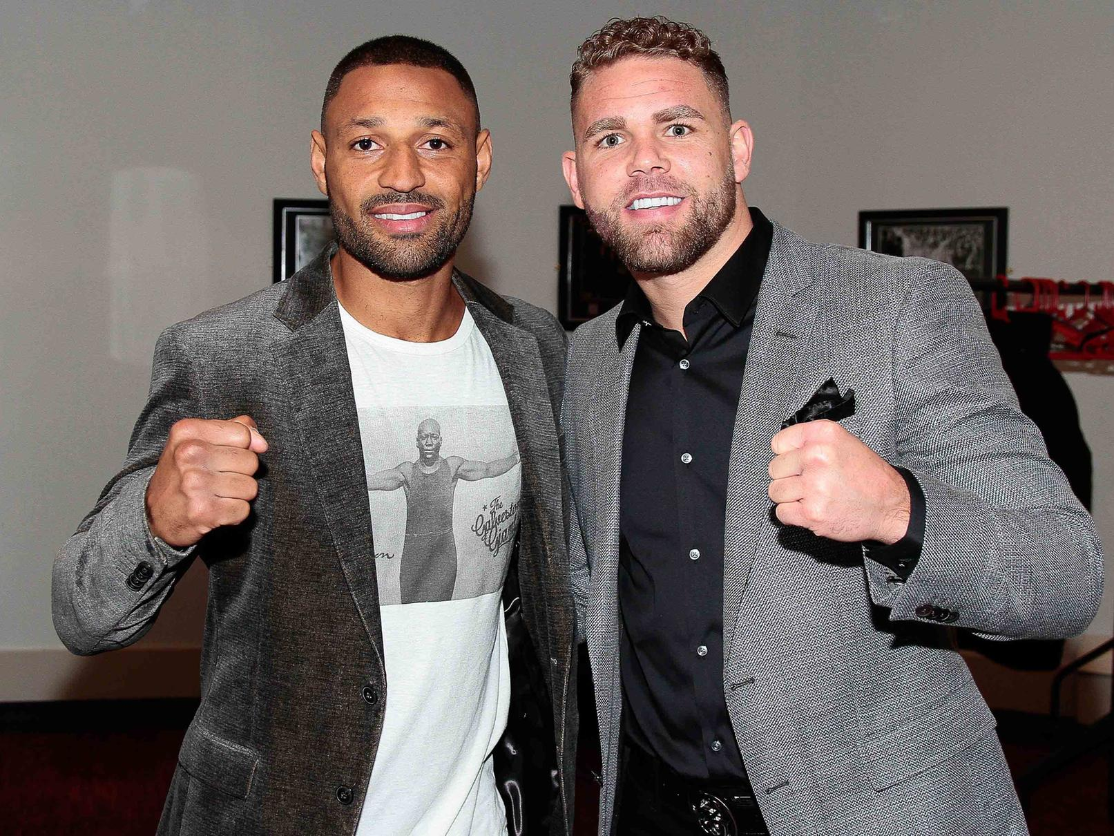 """Kell and Billy2 - Billy Joe Saunders Believes In Kell Brook Against Terence Crawford: """"I'm Backing Him, He's In The Best Shape Of His Life"""""""