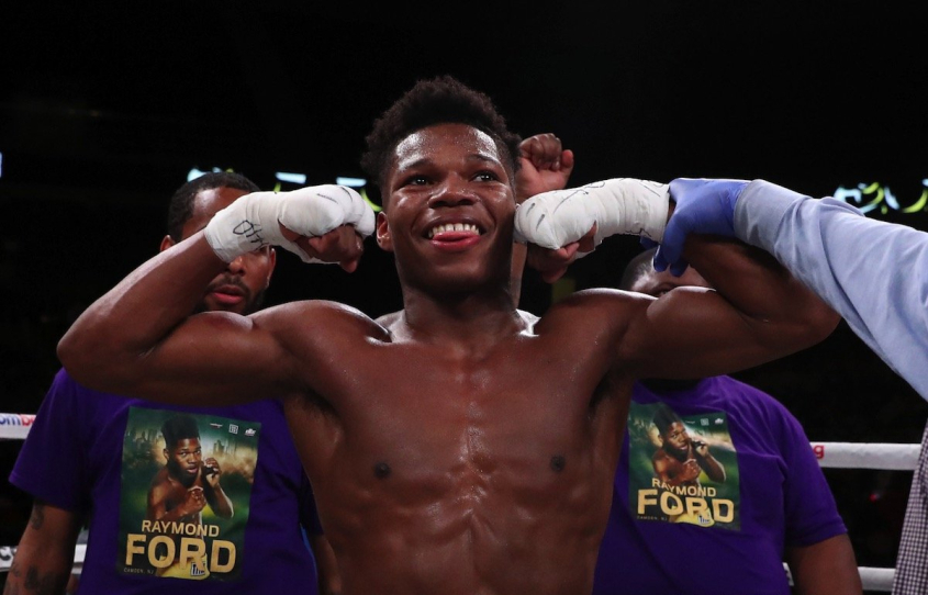 Raymond Ford  - Devin Haney vs Yuriorkis Gamboa Undercard Results: Raymond Ford Stays Unblemished, Beats Down Rafael Reyes