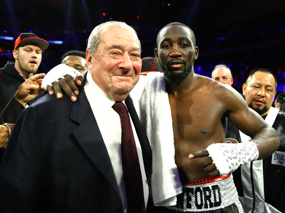 """Terence And Bob - Bob Arum: """"Spence And Garcia Are Fighting December 5th, Terence Crawford Beats Both Of Them The Same Night"""""""