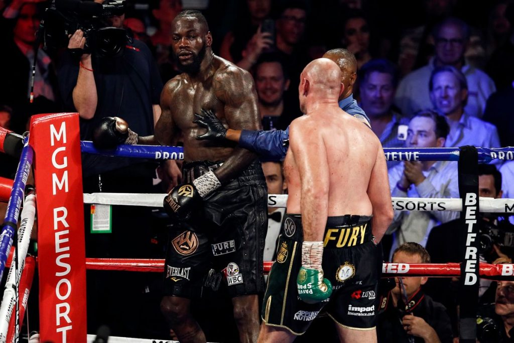 """Wilder Stopped 1024x683 - Bob Arum Responds To Deontay Wilder's Cheating Claim: """"He's Mimicking Donald Trump, In Other Words, He's Lying"""""""