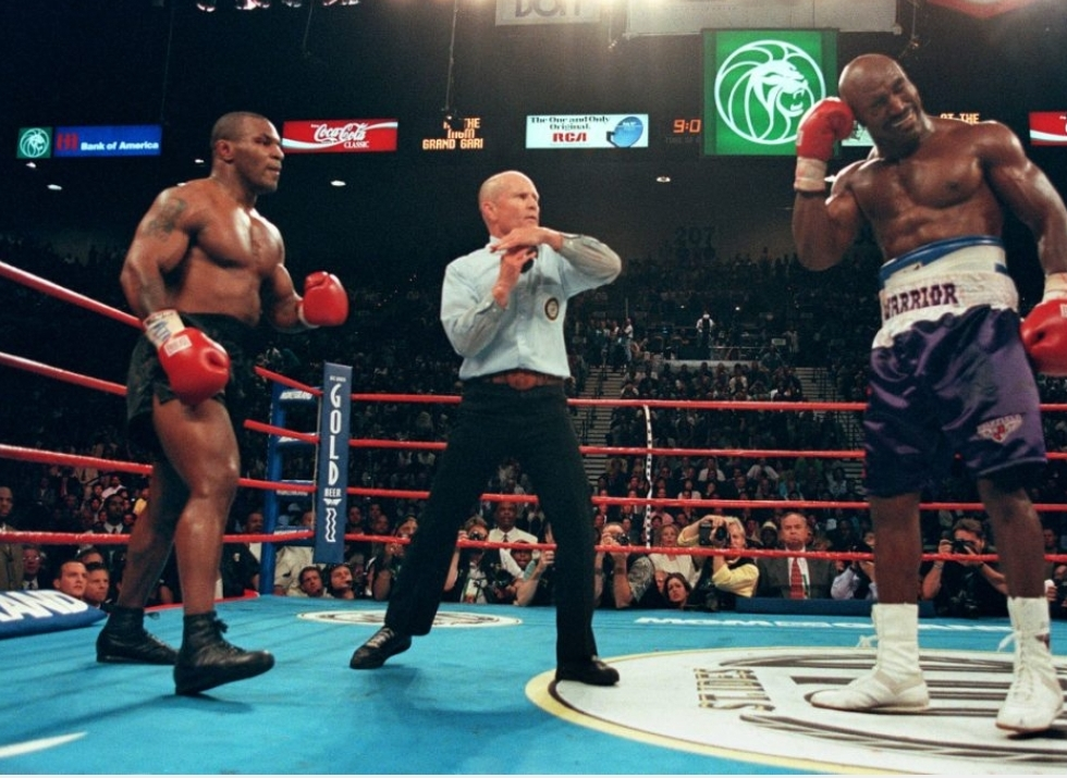 Mike Tyson vs. Evander Holyfield, junio de 1997