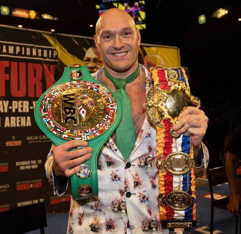 """132036213 909891173172941 4101789792472637370 n - Tyson Fury On Anthony Joshua: """"I Take Him Out Early, Very Early."""""""