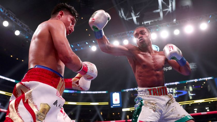"""Mikey Garcia On Errol Spence Jr. Wanting To Face Canelo: """"I Think Canelo Stops Him"""""""
