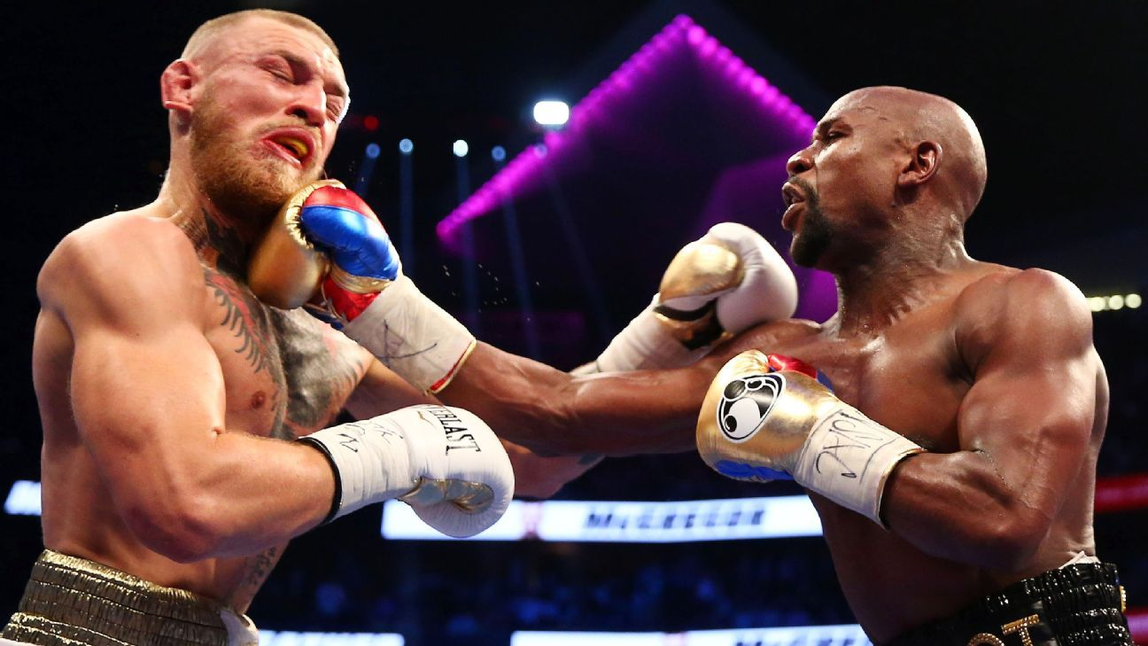 """Floyd Mayweather Rips Conor McGregor Following Loss To Dustin Poirier: """"That Bum Will Never Be On My Level"""""""