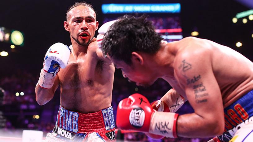 KeithPage 0 - Keith Thurman Returns To The Public Eye