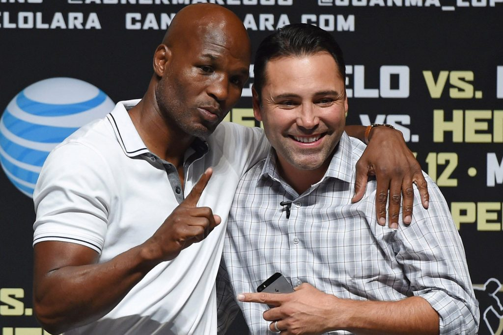 """Bernard Hopkins: """"GGG Declines Every Year, Oscar Would Win By Unanimous Decision"""""""